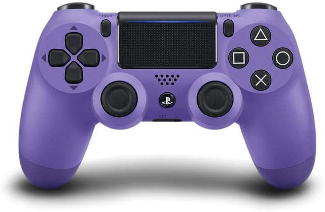 Sony Manette PlayStation 4 officielle, DUALSHOCK 4, Sans fil, Batterie rechargeable, Bluetooth, Electric Purple (Violet Éléctrique)