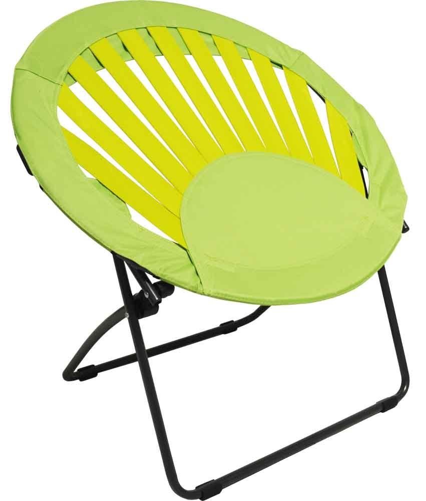 Folding Round Chair - Amazon com impact canopy sunrise bungee chair furniture dorm folding round choose color lime green kitchen dining