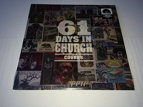 Music : 61 Days In Church - Covers LP Vinyl 2018 RECORD STORE DAY Exclusive