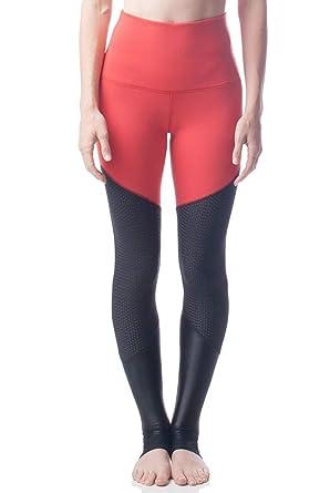 68122d11 Emily Hsu Designs Vanquish Legging-Colorblock-S Womens Active Workout High  Waisted Yoga Leggings