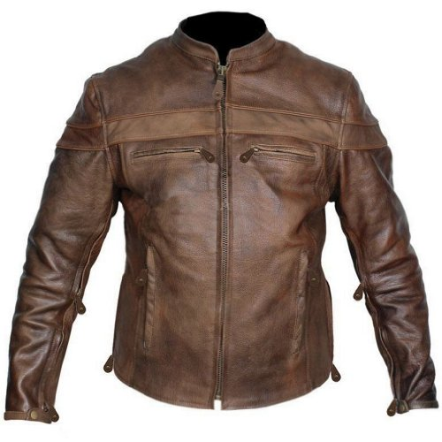 Leather Supreme Buffalo Motorcycle Jacket product image