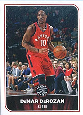 735aee82fd1 2017-18 Panini NBA Stickers  170 DeMar DeRozan Toronto Raptors Basketball  Sticker