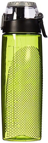 (Thermos 24 Ounce Tritan Hydration Bottle with Meter, Lime)