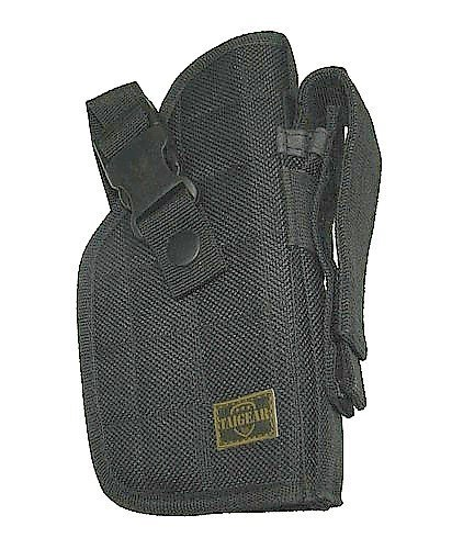 Taigear Right Hand Tactical Gear Belt Holster - Black (Best Mid Size 9mm Handgun)