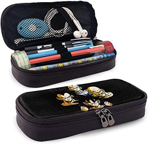 Mäppchen Big Capacity High Capacity Pen Bleistift Pencil Pouch Desk Organizer Portable Bag Holder with Zipper - Dragon Ball Saiyans Rhapsody