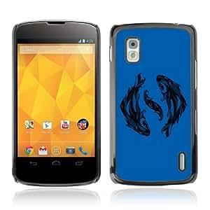 YOYOSHOP [Beautiful Fish Zodiac Sign] LG Google Nexus 4 Case