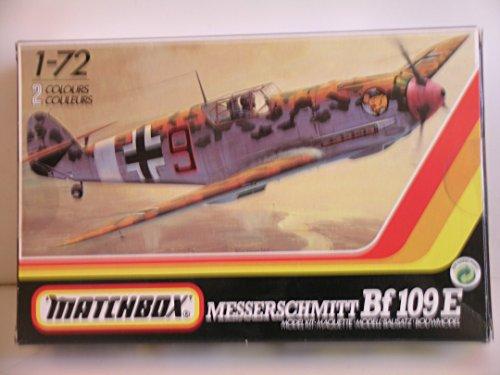 Matchbox Models---WW II German Bf 109E-3/4 Fighter Aircraft--Plastic Model Kit
