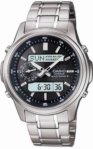 Casio Watch LINEAGE Tough Solar Radio controlled MULTIBAND 6 LCW-M300D-1AJF Men's (Japan (Casio Waveceptor Atomic Watch)
