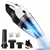 [Upgraded Version]Handheld Vacuum, HoLife Cordless Vacuum Cleaner with 14.8V Li-ion Battery Powered Rechargeable Quick Charge Tech and Cyclone Suction Lightweight Hand Vac