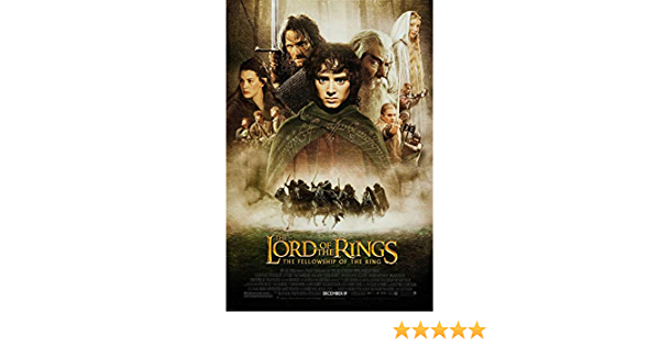 The Lord of the Rings Poster SKU 44426