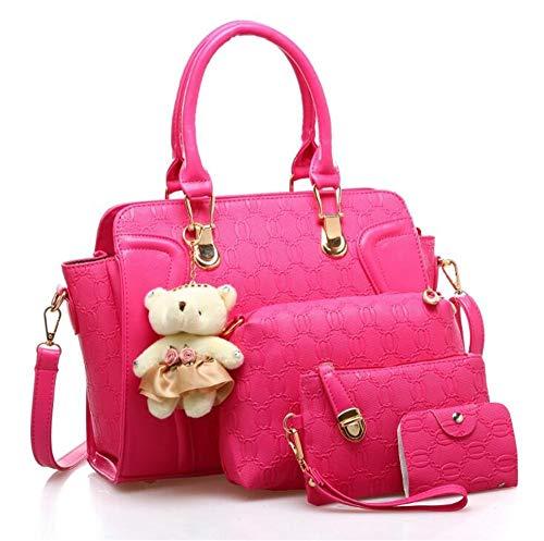 Madre Azotes Mano La Moda De Color Rose De De Bolso Bolso De Lujo Dorado Red De nxX1wB0Hq