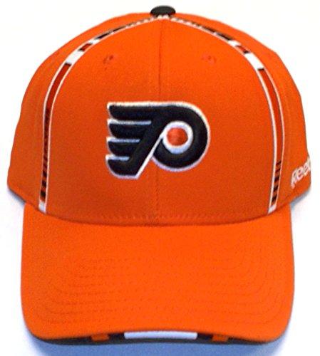 Reebok Philadelphia Flyers Draft Day 2011 Flex Fit Hat - Orange (Small/Medium