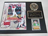 Mark McGwire St Louis Cardinals Collectors Clock Plaque w/8x10 Photo and Card