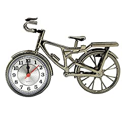 Creative Vintage Bicycle Design Alarm Clock for Children Gift Home Decoration