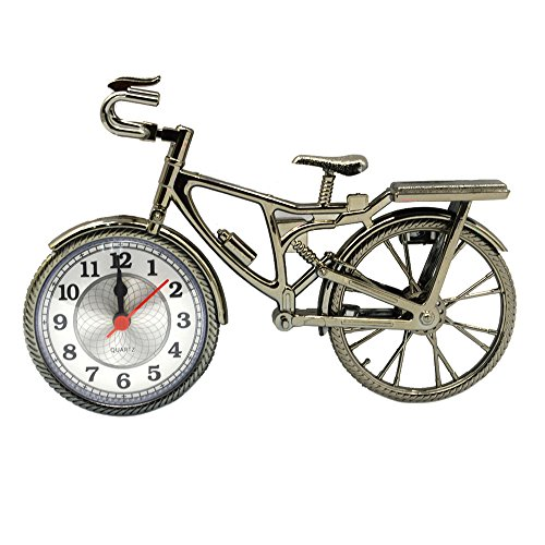 Creative Vintage Bicycle Design Alarm Clock for Children Gift Home - Repair Oakley Parts