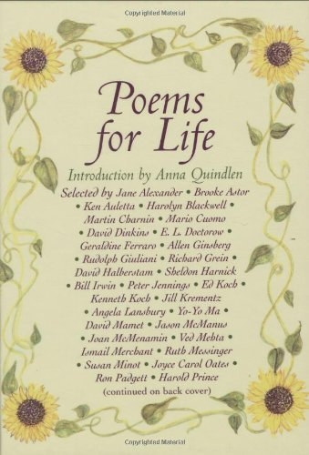 Poems For Life Famous People Select Their Favorite Poem And Say Why Adorable Life Poem