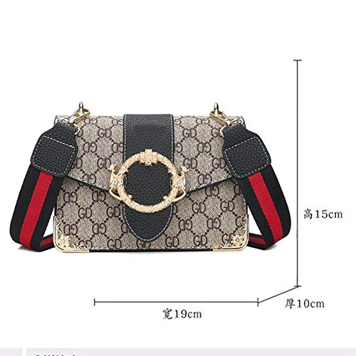 Borse Bright Donna A Moda Cabas 15 10 19 Femme Borsa Larghe Per × Stampa Tracolla BBE1wq4
