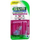 GUM Go-betweens Proxabrush Refills Moderate [612] 8 Each (Pack of 24)