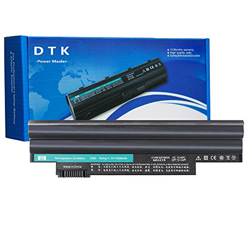 Dtk New High Performance Laptop Battery Replacement for Acer Aspire One D255 D257 D260 522 722 Al10a31 Al10b31 Al10bw Al10g31 Bt.00603.121 Lc.btp00 Notebook Battery ( 11.1v 4400mah 6cells 6-cells (Cell Li Ion Replacement Laptop)