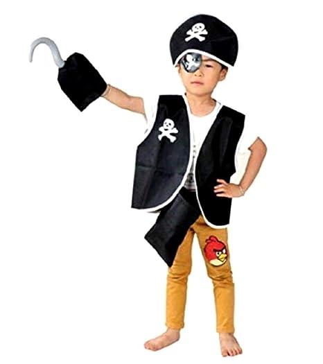 Set vestido pirata chaleco venda ganchillo talla única idea ...