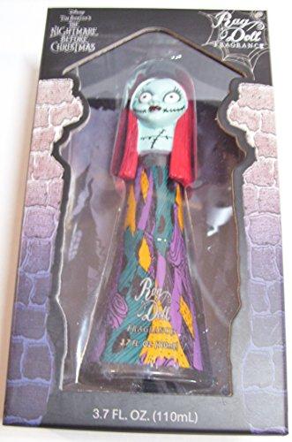 Nightmare Before Christmas RAG DOLL Perfume 3.7 oz in Decorative SALLY Bottle