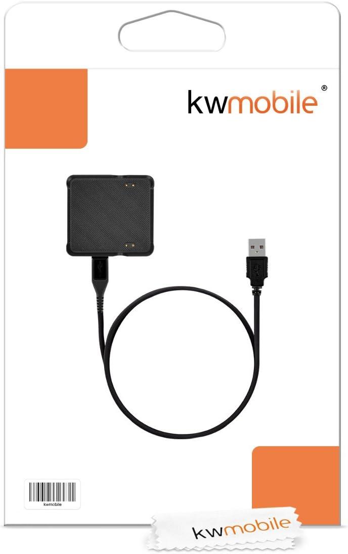 kwmobile Garmin Vivoactive USB Charging Cable Charger Dock Station Cradle for Garmin Vivoactive