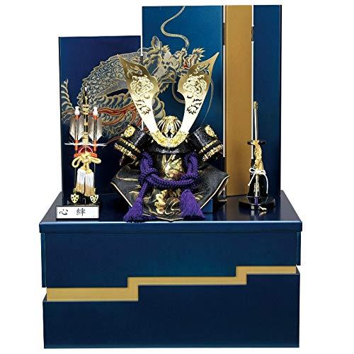 五月人形 cocona兜 収納箱飾り 亮(りょう)8号幅48cm[fz-cn701] B07N2JQX7X