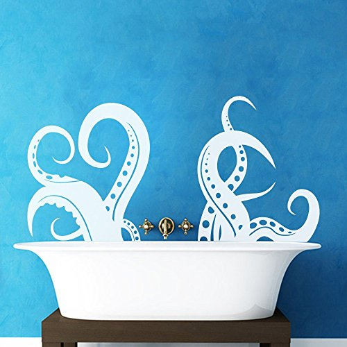 Cheap  Octopus Tentacles Wall Decal Sprut Kraken Wall Sticker Ocean Sea Animal Wall..
