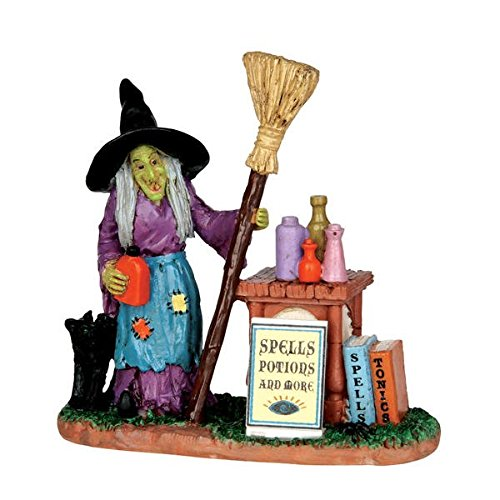 Quasar By Jesus Del Pozo HALLOWEEN LEMAX SPOOKY TOWN COLLECTION SPELLS, POTIONS & MORE FIGURINE 3.35