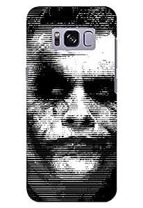 Stylizedd Samsung Galaxy S8 Plus Slim Snap Case Cover Matte Finish - Joker - Multi Color