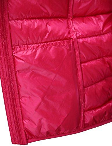 Impacchettabile Cappotto Corto Chick Cherry Donna Red Light Piumino Incappucciato aTCWwq
