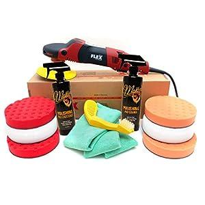 Flex PE14-2-150 Rotary Polisher 6.5 Inch CCS Pad Kit