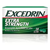 Excedrin Extra Strength Pain Relief Gel Tabs 20 count for Headache Relief