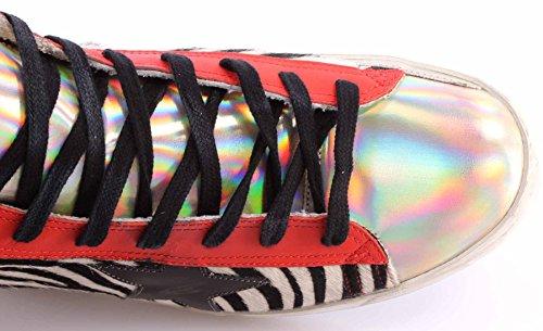 Zapatos Hombres Sneakers Alta GOLDEN GOOSE Francy G27U591.U8 Party Italy Nuevo