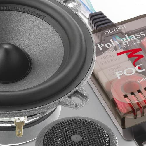 P130V15 P130 V15 Focal 5.25 120 Watts 2-Way Component Speakers System
