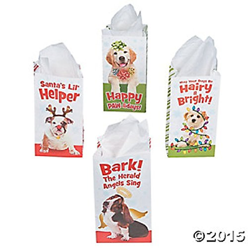 Christmas Holiday Puppy Gift Treat