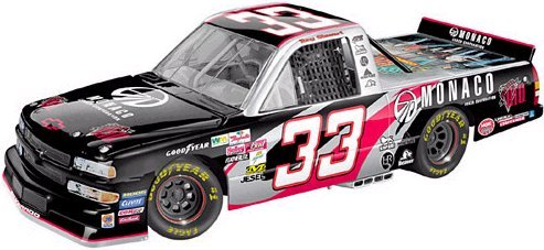1/24 Scale Action Nascar 2003 Chevy Race Truck #33 Tony Stewart Monaco / Diamond Rio Limited Edition of 9,424 Pcs. Made - Stewart Race Tony