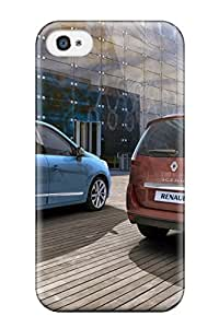 TYH - Excellent Iphone 4/4s Case Tpu Cover Back Skin Protector Renault Scenic 15 phone case