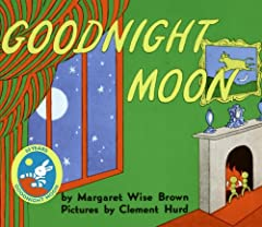 """In a great green room, tucked away in bed, is a little bunny. """"Goodnight room, goodnight moon."""" And to all the familiar things in the softly lit room—to the picture of the three little bears sitting on chairs, to the clocks and his socks, to ..."""