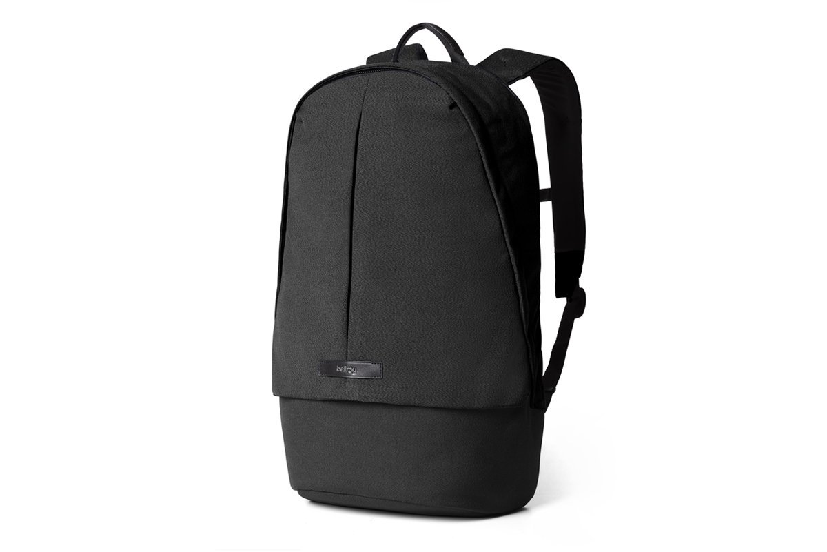 Bellroy Classic Backpack Plus (22 liters, 15'' Laptop, Spare Clothes, Headphones, Notebook) Black