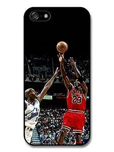 Michael Jordan MJ 23 Basketball Stadium Background Case For Iphone 6 Plus 5.5 Inch Cover