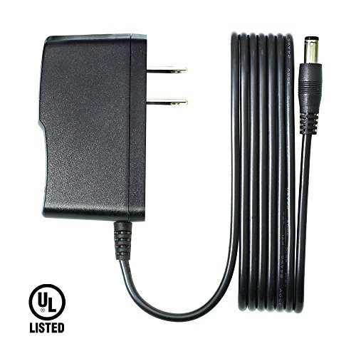 9V 1.5A AC/DC Power Adapter for Arduino, Tbuymax UL Listed Center Positive 5.5mm x 2.1mm Power Supply Cord for UNO R3 / Elegoo UNO R3 / IEIK UNO R3 / MEGA 2560 R3 (6.6 Ft)