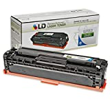LD © Remanufactured Replacement Laser Toner Cartridge for Hewlett Packard CE321A (HP 128A) Cyan for use in the Color LaserJet CM1415fnw, CP1525wn & CP1525nw Printers