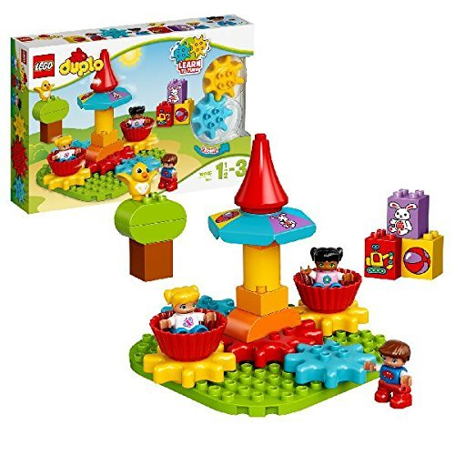 LEGO DUPLO My First Carousel Building Blocks for Kids 2 to 5 Years  24 Pcs 10845