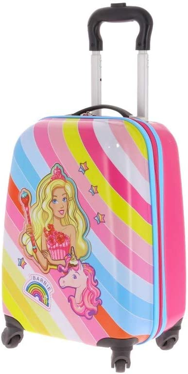 BARBIE Hard Cabin Koffer 102695DRE 4 Wheel Multicolor Girl
