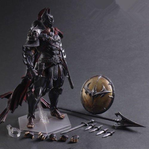 Play Arts Kai Batman Dark Knight Timeless Spartan Warrior Figure Statue Model #7 (Party City Locations Nyc)