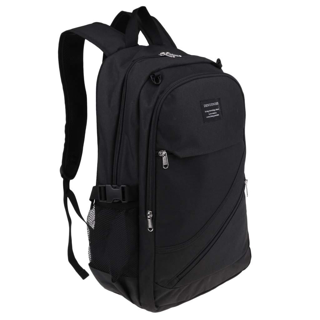 Baosity Unisex Tennis Racquet/Racket Backpack Bag Sports Rucksack for Men Women - Starry Black