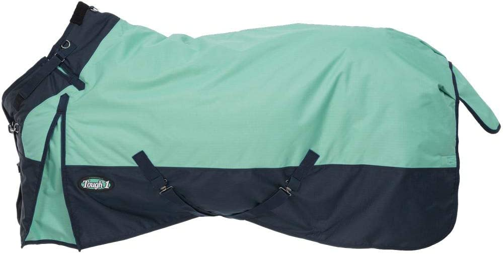 Tough-1 1200D Poly Turnout Snuggit Horse Blanket Seaglass 81IN