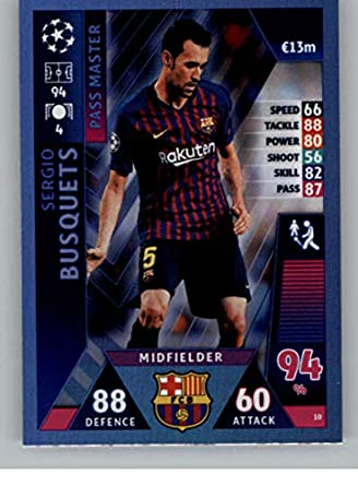 TOPPS Champions League 18//19 STICKER 5-Lionel Messi