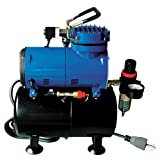 Paasche D3000R 1/8 HP Compressor with Tank, Regulator for sale  Delivered anywhere in USA